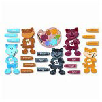 Trend Enterprises Color Cats Bulletin Board Set, 45 Pieces
