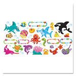 Trend Enterprises Bulletin Board Set, Sea Buddies, 18 1/4 x 31, 47 Pieces/Kit