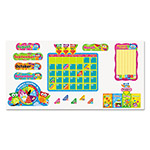 Trend Enterprises Owl-Stars Calendar Bulletin Board, 17 1/2 x 23 1/4, 100 pieces