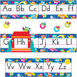 Trend Enterprises Owl Stars Alphabet Line Bulletin Board Set, 12 3/4 x 8 1/2, 29 pieces