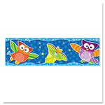 "Trend Enterprises Bolder Borders, 11 panels, 2 3/4"" x 39"", Owls/Stars"