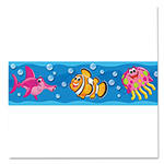 "Trend Enterprises Bolder Borders, 11 panels, 2 3/4"" x 39"", Sea Buddies"