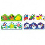 Trend Enterprises Terrific Trimmers® Seasonal Bulletin Board Trim, Variety, Assorted