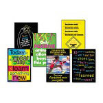 Trend Enterprises Great Messages ARGUS Large Poster Combo Pack