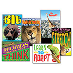 "Trend Enterprises Assorted ""Animals - Self Discovery"" Motivational Prints, 6/Pack"