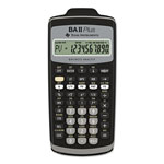 Texas Instruments BAIIPLUS Financial Calculator, Scientific, Alphanumeric, 10 Character, Hard Case