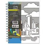TF Publishing Perfect Places Coloring Journal, 140 Pages, 6 3/8 x 8
