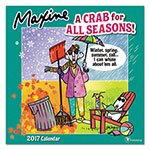 TF Publishing Maxine Wall Calendar, 12 x 12, 2017