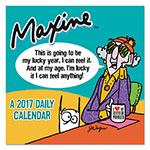 TF Publishing Maxine Box Calendar, 5 1/2 x 5 1/2, 2017