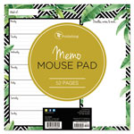 TF Publishing Jungle Weekly Memo Pad, 7 3/4 x 7 3/4, Assorted Color, 52 Sheets