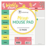 TF Publishing Plan Me Weekly Memo Pad, 7 3/4 x 7 3/4, Assorted Color, 53 Sheets