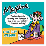 "TF Publishing Maxine Box Calendar, 5 1/2"" x 5 1/2"", 2017"