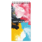 "TF Publishing Granite Non-Dated Day Planner, 8 1/2"" x 4"" x 3/4"", Black & White"