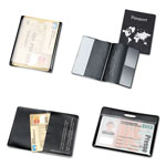 Tarifold Hidentity Personal Protection Assortment Set, 4 Holders, Clear/Black