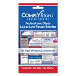 ComplyRight Labor Law Poster Service, 1-Year
