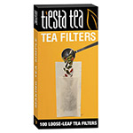 Tiesta Tea Filters, Hemp Fiber, 100/Box
