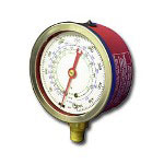 Tif Instruments High Side R12 and R22 Auto Glycerine Refrigerant Gauge