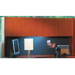 "Tiffany Office Furniture Wood Door Hutch, 72""x15""x39"", Cherry"