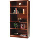 Mayline Sorrento Series Bookcase, Five Shelves, Cherry