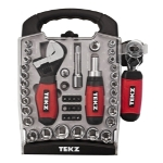 "Titan 45 Piece 1/4"" and 3/8"" Drive Stubby Hand Tools Set"