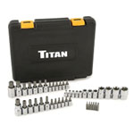 Titan 43 Piece Master Star Bit Socket Set