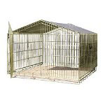 "Jewett Cameron Travel Kennel 36"" x 40"" x 40"""