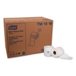 Tork Universal Bath Tissue Roll, 2-Ply, Embossed, 4.5 x 3.75, White