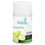 Timemist Metered Fragrance Dispenser Refill, Cucumber Melon, 6.6 oz, Aerosol