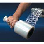 "Box Partners 5"" x 1000' Stretch Film with 1 Handle 4 Pack"