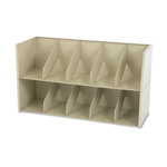 "Tennsco Add-a-Stack File Shelf Dividers, 36"", Beige"