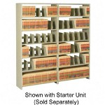 "Tennsco Snap-Together Open Shelving Add-On Unit with 7 Shelves, 36""w x 88""h"
