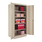 "Tennsco Standard Storage Cabinet, 72""-High, 36"" x 24"", Putty"