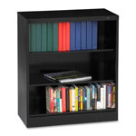 "Tennsco Welded Bookcase - 36"" x 18"" x 42"" - Legal - Durable, Locking Tab - Black"