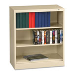"Tennsco Welded Bookcase - 36"" x 18"" x 42"" - Legal - Durable, Locking Tab - Putty"
