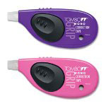 Tombow 68761 Correction Tape, 2/Pack, Pink/Purple