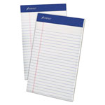 Ampad Mead Jr. Legal Ruled Pad, 5 x 8, White, 100-Sheet Pads, 4 per Pack