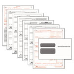 TOPS Tax Forms/W 2 Tax Forms Kit w/24 Forms, 24 Envelopes, 1 Form W 3