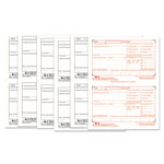 TOPS W 2 Tax Forms for Laser Printers, 6 Part, 50 Sets per Pack