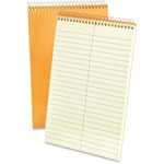 "TOPS Steno Notebook, Gregg Ruled, 80 Sheets, 6"" x 9"", Green Tint"