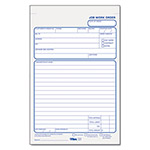 TOPS Job Work Order Pad, 5 1/2x8 1/2, 50 Duplicate Sets with Carbons per Pad
