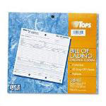 TOPS Bill of Lading, Short Form with o Hazard Info, Triplicate, 50 Sts/Pack