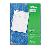 TOPS Carbonless Snap Off® Sales Order, Long Form, Triplicate Style, 50 Sets/Pack