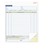 TOPS Carbonless Purchase Order Book, Duplicate, Numbered, 8 1/2x11, 50 Sets/Black