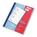 TOPS Carbonless Rent Receipt Book, Triplicate, 4 Receipts/Pg, 100 Sets/Book