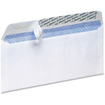 TOPS Security Envelope, No.10, Self Sealing, 100/BX, White