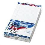 TOPS Writing Pads, 8 1/2x14, Legal Rule, White, 50 Sheets/Pad, 12/Pack