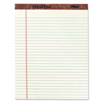 TOPS Letr Trim™ Perf Top Legal Pad, Letter Size, Greentint, 50 Sheets/Pad, Dozen