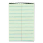 "TOPS Steno Book, Gregg Rule, 80 Sheets, 6""x9"", Green Tint"