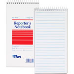 TOPS Notebook, Gregg, 70 Sheets, 4x8, White