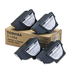 Toshiba Copier Toner Cartridge; Model BD1340, 1350, 1360, 1370, Black, 4/Carton